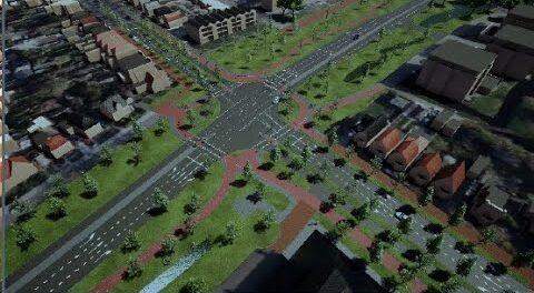 Rotonde Heerenveen-Midden wordt kruispunt